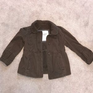 Brown Abercrombie & Fitch jacket size small